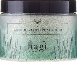 Parfüm, Parfüméria, kozmetikum Fürdőpúder spirulina - Hagi Bath Puder