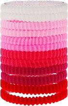 Parfüm, Parfüméria, kozmetikum Hajgumi, rózsaszín mix, 12db - Top Choice