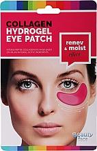 Parfüm, Parfüméria, kozmetikum Kollagén szemmaszk vörösborral - Beauty Face Collagen Hydrogel Eye Mask