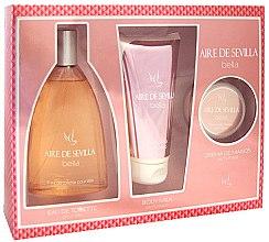 Parfüm, Parfüméria, kozmetikum Instituto Español Aire de Sevilla Bella - Szett (edt/150ml + b/milk/150ml + hand/cr/50ml)