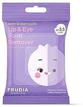 Parfüm, Parfüméria, kozmetikum Micellás törlőkendő - Blueberry Micellar 5.5 Lip & Eye Remover Pad