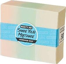 Parfüm, Parfüméria, kozmetikum Glicerines szappan eperrel és tejszínnel - Beauty Jar Shake Your Milkshake Handmade Soap