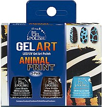 Parfüm, Parfüméria, kozmetikum Szett - IBD Just Gel Polish Animal Print Gel Art(nail/lacquer/7,4mlx3)