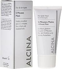 Parfüm, Parfüméria, kozmetikum 5 perces express arcmaszk - Alcina B 5 Minute Mask