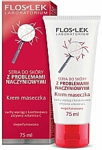Parfüm, Parfüméria, kozmetikum Krémes arcpakolás - FlosLek Dilated Capillaries Cream Mask
