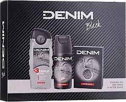 Parfüm, Parfüméria, kozmetikum Denim Black - Szett (ash/lot/100ml + deo/150ml + sh/gel/250ml)