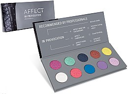 Parfüm, Parfüméria, kozmetikum Préselt szemhéjfesték paletta - Affect Cosmetics Provocation Eyeshadow Palette