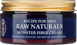 Parfüm, Parfüméria, kozmetikum Hajkrém - Recipe For Men RAW Naturals Monster Fiber Cream