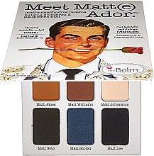 Parfüm, Parfüméria, kozmetikum Szemhéjfesték paletta - TheBalm Meet Matt(e) Ador Matte Eyeshadow Palette