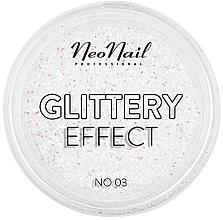 Parfüm, Parfüméria, kozmetikum Csillogó körömdíszítő por - NeoNail Professional Glittery Effect