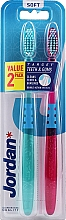 Parfüm, Parfüméria, kozmetikum Fogkefe, lágy, lila-világos kék - Jordan Target Teeth Toothbrush