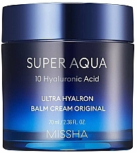 Parfüm, Parfüméria, kozmetikum Hidratáló krém-balzsam - Missha Super Aqua Ultra Hyalron Balm Cream Original
