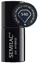 Parfüm, Parfüméria, kozmetikum Körömlakk - Semilac UV Hybrid America Go!