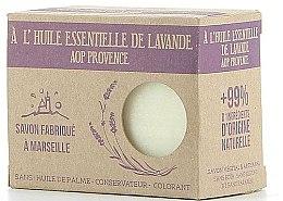 Parfüm, Parfüméria, kozmetikum Marseillaise szappan levendula olajjal - Foufour Savon A l'Huile Essentielle de Lavande AOP Provence