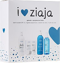 Parfüm, Parfüméria, kozmetikum Szett - Ziaja GdanSkin (cr/50ml + spray/200ml + balm/300ml + soap/300ml)