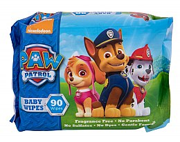 Parfüm, Parfüméria, kozmetikum Nedves törlőkendő, 90 db - Nickelodeon Paw Patrol Baby Wipes