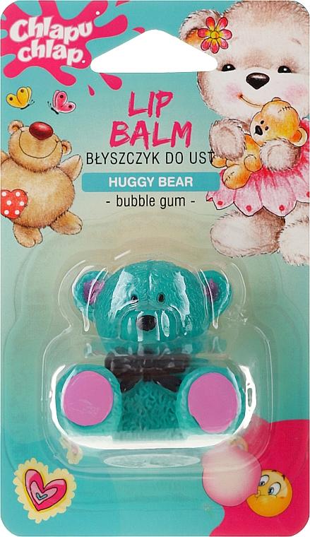 "Ajakfény balzsam ""Mackó"", bubble gum illattal - Chlapu Chlap Lip Balm"
