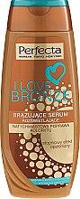 Parfüm, Parfüméria, kozmetikum Bronzosító szérum - Perfecta I Love Bronze Serum