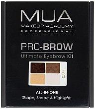 Parfüm, Parfüméria, kozmetikum Szemöldökformázó szett - MUA Pro-Brow Ultimate Eye Brow Kit