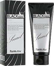 Parfüm, Parfüméria, kozmetikum Archab hab fekete csiga muzsinnal - FarmStay Black Snail Deep Cleansing Foam