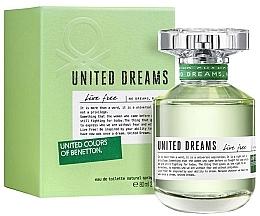 Parfüm, Parfüméria, kozmetikum Benetton United Dreams Live Free - Eau De Toilette