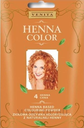Természetes henna alapú hajszínező por - Venita Henna Color — fotó 4 - Henna