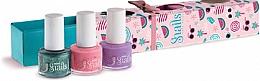 Parfüm, Parfüméria, kozmetikum Gyermek körömlakk készlet 3x7 ml - Snails Mini Bebe Berry-Licious