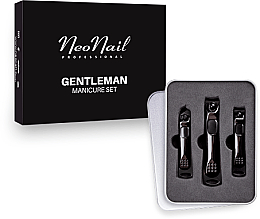Parfüm, Parfüméria, kozmetikum Manikűr szett férfiaknak - NeoNail Professional Gentleman Manicure Set