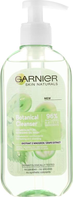 Frissítő mosakodó gél szőlő kivonattal - Garnier Skin Naturals Botanical Grape Extract Refreshing Gel Wash
