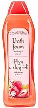 """Parfüm, Parfüméria, kozmetikum Fürdőhab """"Eper és aloe"""" - Bluxcosmetics Naturaphy Strawberry & Aloe Vera Bath Foam"""