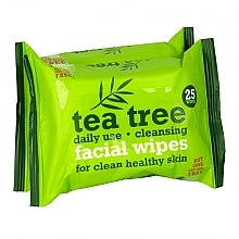 Parfüm, Parfüméria, kozmetikum Nedves törlőkendő arcra 2x25szt - Xpel Marketing Ltd Tea Tree Facial Wipes For Clean Healthy Skin