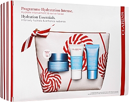 Parfüm, Parfüméria, kozmetikum Szett - Clarins Hydra-Essentiel Christmas Set (f/cr/50ml+f/scrub/15ml+f/mask/15ml+bag)