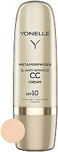 Parfüm, Parfüméria, kozmetikum Ránctalanító CC krém SPF 10 - Yonelle Metamorphosis D3 Anti Wrinkle CC Cream SPF10