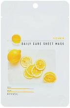 Parfüm, Parfüméria, kozmetikum Regeneráló arcmaszk B5 vitaminnal - Eunyu Daily Care Sheet Mask Vitamin