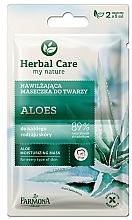 "Parfüm, Parfüméria, kozmetikum ""Aloe"" maszk minden bőrtípusra - Farmona Herbal Care"
