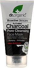 Parfüm, Parfüméria, kozmetikum Arcmaszk aktív szénnel - Dr. Organic Bioactive Skincare Activated Charcoal Pore Cleansing Face Mask