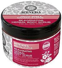 Parfüm, Parfüméria, kozmetikum Testradír - Iceveda Arctic Rose&Maharaja Lotus Rejuvenating Herbal Body Scrub