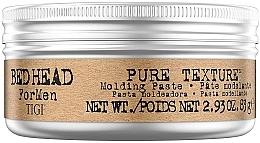 Parfüm, Parfüméria, kozmetikum Hajformázó paszta férfiaknak - Tigi Bed Head Men Pure Texture