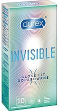 Parfüm, Parfüméria, kozmetikum Szorosan illeszkedő óvszer, 10 db - Durex Invisible Close Fit