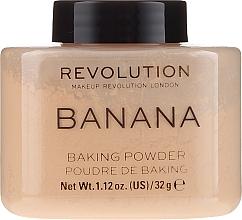 Parfüm, Parfüméria, kozmetikum Arcpúder - Makeup Revolution Banana Baking Powder
