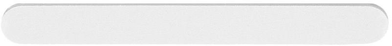 """Körömreszelő """"Egyenes"""", fehér, 100/180 - Tools For Beauty Nail File Straight White"""