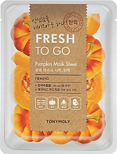 Parfüm, Parfüméria, kozmetikum Szövetmaszk tök kivonattal - Tony Moly Fresh To Go Mask Sheet Pumpkin