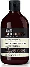 Parfüm, Parfüméria, kozmetikum Fürdőhab - Baylis & Harding Goodness Lemongrass & Ginger Natural Bath Soak