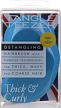 Parfüm, Parfüméria, kozmetikum Hajfésű - Tangle Teezer Thick & Curly Azure Blue