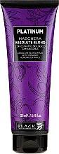 Parfüm, Parfüméria, kozmetikum Maszk szőkített hajra - Black Professional Line Platinum Absolute Blond Mask