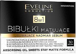 Parfüm, Parfüméria, kozmetikum Mattító arcápoló kendő - Eveline Cosmetics 8in1