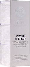 "Parfüm, Parfüméria, kozmetikum Szemkörnyékápoló szérum ""Fiatalító"" - Natura Siberica Copenhagen Caviar de Russie Age Delay Eye Serum"