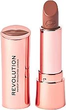 Parfüm, Parfüméria, kozmetikum Ajakrúzs - Makeup Revolution Satin Kiss Lipstick