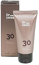 Parfüm, Parfüméria, kozmetikum Napvédő arckrém SPF 30 - Le Tout Facial Sun protect