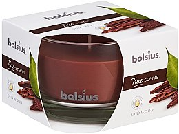 """Parfüm, Parfüméria, kozmetikum Illatgyertay pohárban """"Agár fa"""", 63/90 mm - Bolsius True Scents Candle"""
